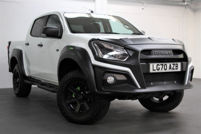 Isuzu D-max 1.9 XTR Nav+ Double Cab 4x4 Auto Pick Up Diesel WHITE at Weybridge Isuzu West Byfleet