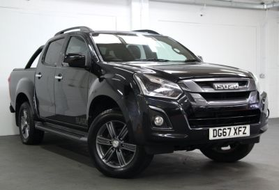 Isuzu D-max 1.9 Blade Double Cab 4x4 Auto Pick Up Diesel BLACK at Weybridge Isuzu West Byfleet