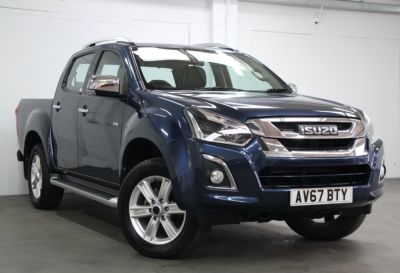 Isuzu D-max 1.9 Utah Double Cab 4x4 Auto Pick Up Diesel BLUE at Weybridge Isuzu West Byfleet